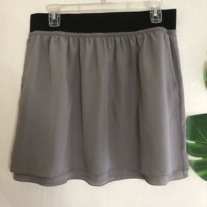 Ann Taylor Loft  Skirt A line Elastic Waist size 6